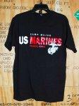 画像1: 米軍放出品 USMC CAMP MUJUK Tシャツ LARGE (1)