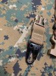 画像3: 米海兵隊放出品 TAC SHIELD 2N1 PADDED  ウォーリアー スリング  MEU RECON MARSOC (3)