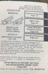 画像6: 米軍実物 AN/PVS-14 NVG シールドレンズ  マニュアルキット ナイトビジョン  (6)