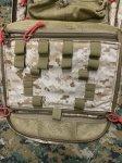 画像12: 米軍実物  新型 Fire Force Tactical Gear M9  アサルトメディカルバックパック デザート (12)