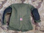画像7: 米海兵隊放出品 BASICS CLOTH SHOOTING COAT シューティングコート (7)