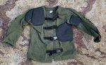 画像1: 米海兵隊放出品 BASICS CLOTH SHOOTING COAT シューティングコート (1)