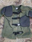 画像2: 米海兵隊放出品 BASICS CLOTH SHOOTING COAT シューティングコート (2)