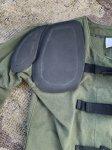 画像4: 米海兵隊放出品 BASICS CLOTH SHOOTING COAT シューティングコート (4)