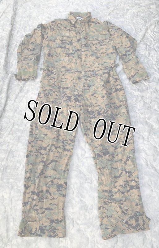 画像1: 米軍放出品,ウッドランド ピクセル  カバーオール LARGE (1)