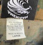 画像6: 米軍放出品,ウッドランド ピクセル  カバーオール LARGE (6)