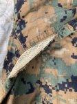 画像4: 米軍放出品,ウッドランド ピクセル  カバーオール LARGE (4)