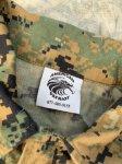 画像5: 米軍放出品,ウッドランド ピクセル  カバーオール LARGE (5)