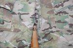 画像2: 米軍実物,US ARMY マルチカムパンツ S-XS (2)