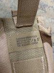 画像4:  米軍放出品, FLASH BANG GRENADE POUCH 3Cデザート (4)