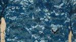 画像2: 米軍軍実物 US NAVY, 迷彩ジャケット XS-XS (2)
