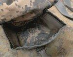 画像6: 米陸軍実物 100RD SAW・ユーティリティポーチ MOLLEII  (6)