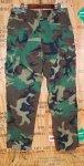 画像2: 米軍実物,ウッドカモ 迷彩パンツ L-LONG (2)