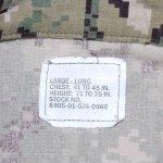 画像7: 米軍実物,US NAVY, AOR2 NUW 迷彩ジャケット TYPEIII L-L (7)