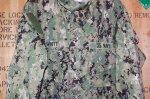 画像2: 米軍実物,US NAVY, AOR2 NUW 迷彩ジャケット TYPEIII L-L (2)