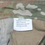 画像5: 米軍実物,米陸軍 ARMY  スコーピオン マルチカムパンツ M-S (5)