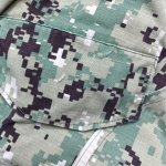 画像6: 米軍実物,US NAVY, AOR2 NUW 迷彩パンツ TYPEIII S-S (6)