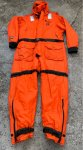 画像2: 湾岸警備隊実物 Coast Guard mustang survival suit MS 2175 (2)