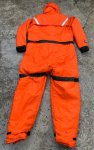画像3: 湾岸警備隊実物 Coast Guard mustang survival suit MS 2175 (3)
