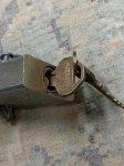 画像5: 米軍放出品,軍用 AMERICAN LOCK Padlock 南京錠 (5)
