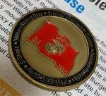 画像1: 海兵隊実物 USMC  チャレンジコイン (1)