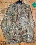 画像2: 米軍実物 官給品 マルチカム レインウェアーセット (2)