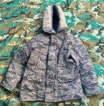 画像1: 米軍実物 DAKOTA OUTERWEAR N3B PARKA ABU 防寒着 (1)