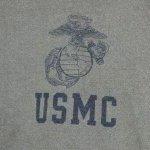 画像2: 米軍放出品.USMC スウェットトレーナー XL (2)