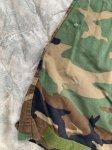 画像7: 米軍実物 迷彩 ウッドランド メカニックカバーオール L (7)