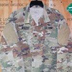 画像2: 米軍実物,米陸軍 ARMY  スコーピオン マルチカム ジャケット L-S (2)