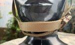 画像12: 米軍実物 OPS-CORE FAST MARITIME  マリタイム ハイカット バリスティック ヘルメット タンL/ XL (12)