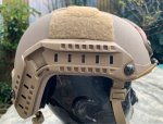 画像4: 米軍実物 OPS-CORE FAST MARITIME  マリタイム ハイカット バリスティック ヘルメット タンL/ XL (4)
