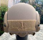 画像3: 米軍実物 OPS-CORE FAST MARITIME  マリタイム ハイカット バリスティック ヘルメット タンL/ XL (3)
