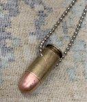 画像2: 米軍放出品 アクセサリー弾 ネックレス (2)