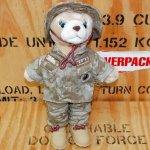 画像1: 米軍放出品 USMC 海兵隊 ミリタリー ベアー レディー (1)