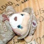 画像4: 米軍放出品 USMC 海兵隊 ミリタリー ベアー レディー (4)