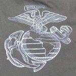 画像2: 米軍実物,USMC トレーニングウェアー パンツ  S-S (2)