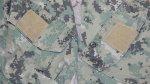 画像3: 米軍実物 FROG US NAVY, AOR2 コンバットシャツ TYPEIII (3)