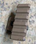 画像2: 米軍実物 AN/PSQ-18A レーザーサイト 20mmブラケットパーツ (2)