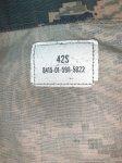 画像5: 米軍実物,USAF US AIR FORCE ABU ジャケット 42S (5)