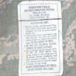 画像4: 米軍実物,USAF US AIR FORCE ABU パンツ 32R (4)