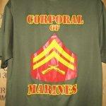 画像4: 米軍放出品 CORPORAL OF MARINES Tシャツ MEDIUM (4)