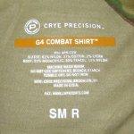 画像5: 米軍実物 マルチカム CRYE PRECISION  G4 コンバットシャツ S-R (5)