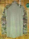 画像2: 米軍実物 マルチカム CRYE PRECISION  G4 コンバットシャツ S-R (2)