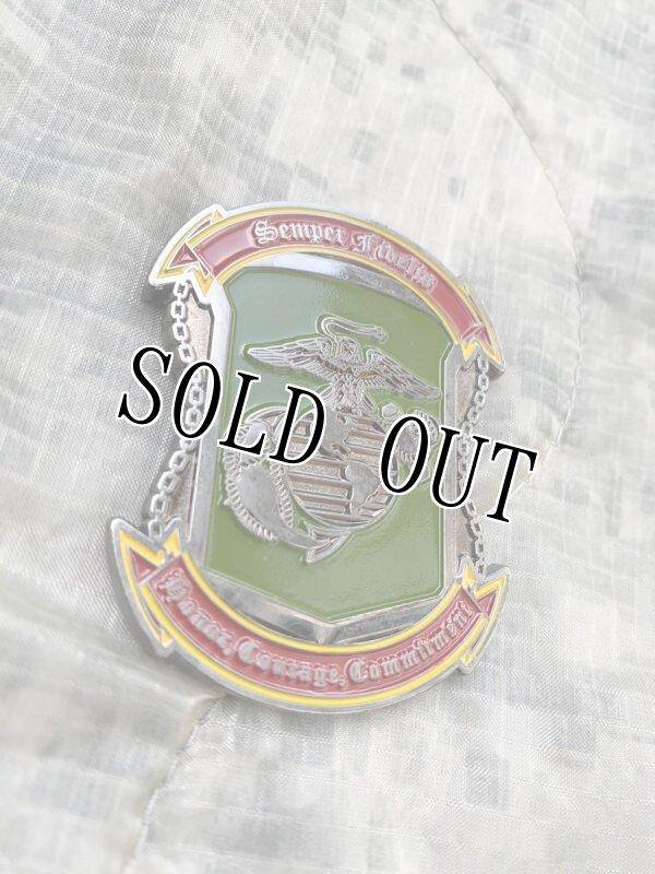 画像1: 海兵隊実物 沖縄 US MARINE チャレンジコイン (1)