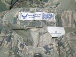 画像3: 米軍実物,USAF US AIR FORCE ABU パンツ 32R (3)