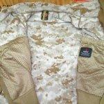 画像4: 米軍放出品 デザートマーパット/ピクセル ポーラテックフリースジャケット M-L (4)