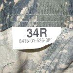 画像3: 米軍実物,USAF US AIR FORCE ABUパンツ 34R (3)