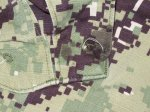 画像4: 米軍実物,US NAVY, AOR2 NUW 迷彩パンツ TYPEIII L-R (4)