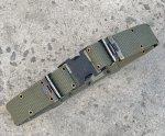 画像1: 米軍実物 LC-2 ピストルベルト OD Lサイズ  (1)